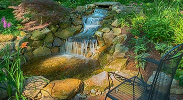 Shaker Heights Water Feature