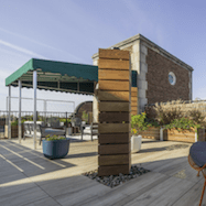 Rooftop Terrace in Shaker Heights