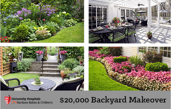 Subscribe to our Newsletter - Win A $20,000 Backyard Makeover - Cleveland Landscaping And Snow Removal