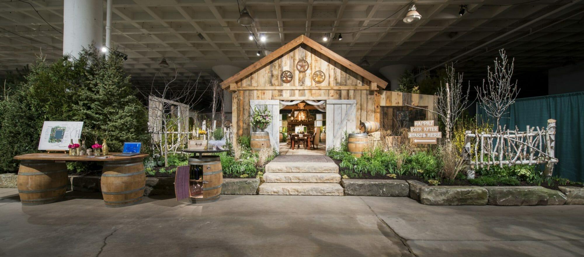 Wedding expo entrance