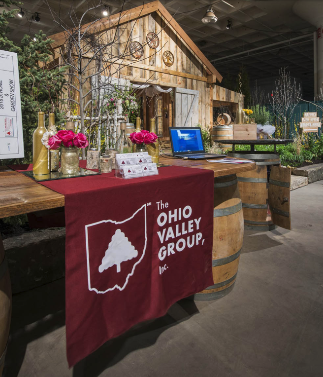 Ohio Valley Group expo entrance