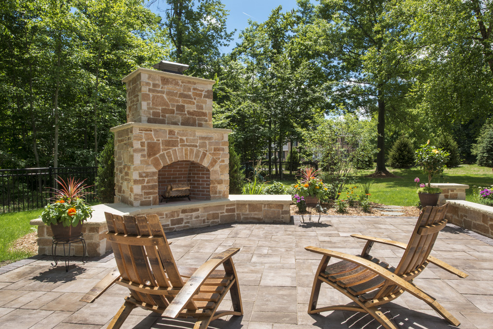 chimney patio