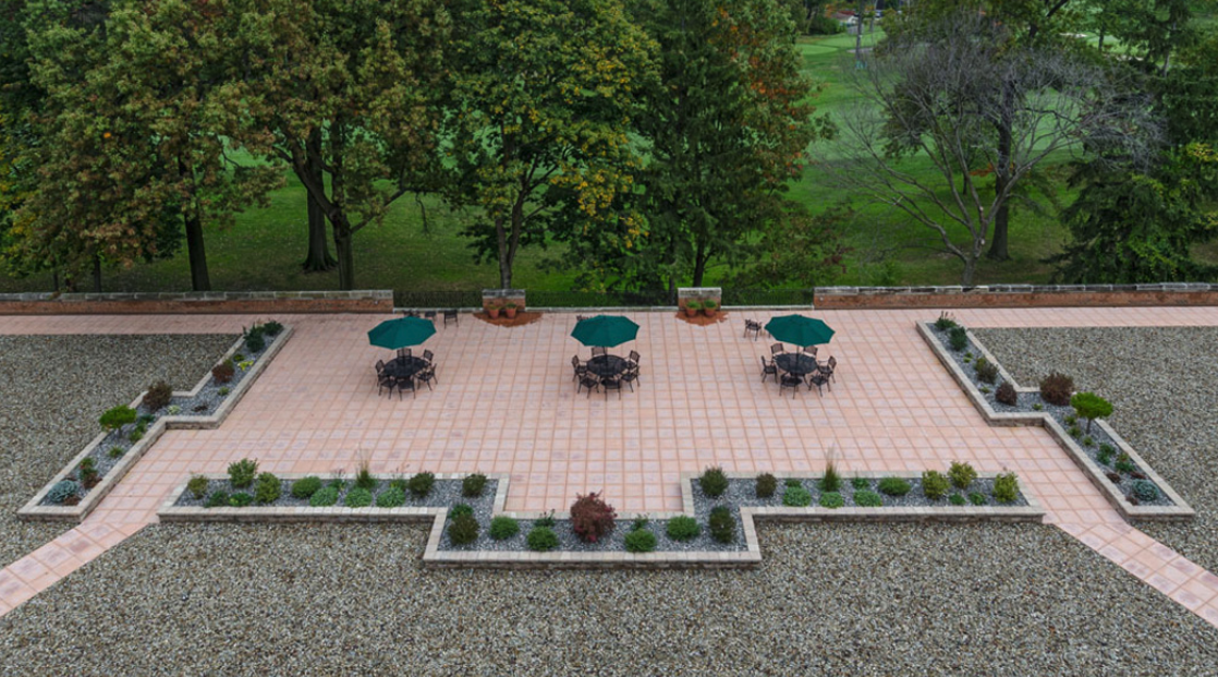 Patio overview