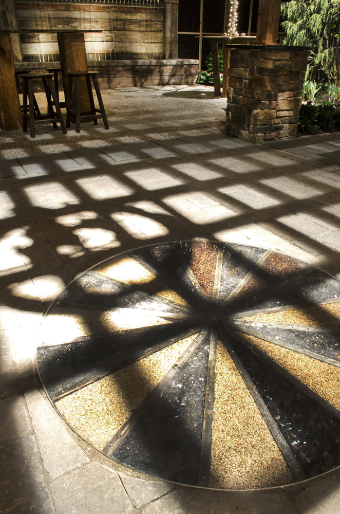 Patio floor