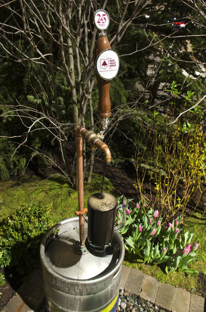 beer water feature